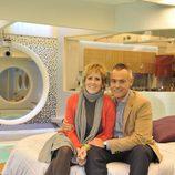 Mercedes Milá y Jordi González, presentadores de 'Gran Hermano 12+1'