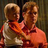 Harrison y su padre 'Dexter'