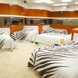 Dormitorio naranja de 'GH12+1'