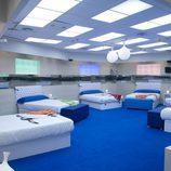Dormitorio azul de 'GH12+1'