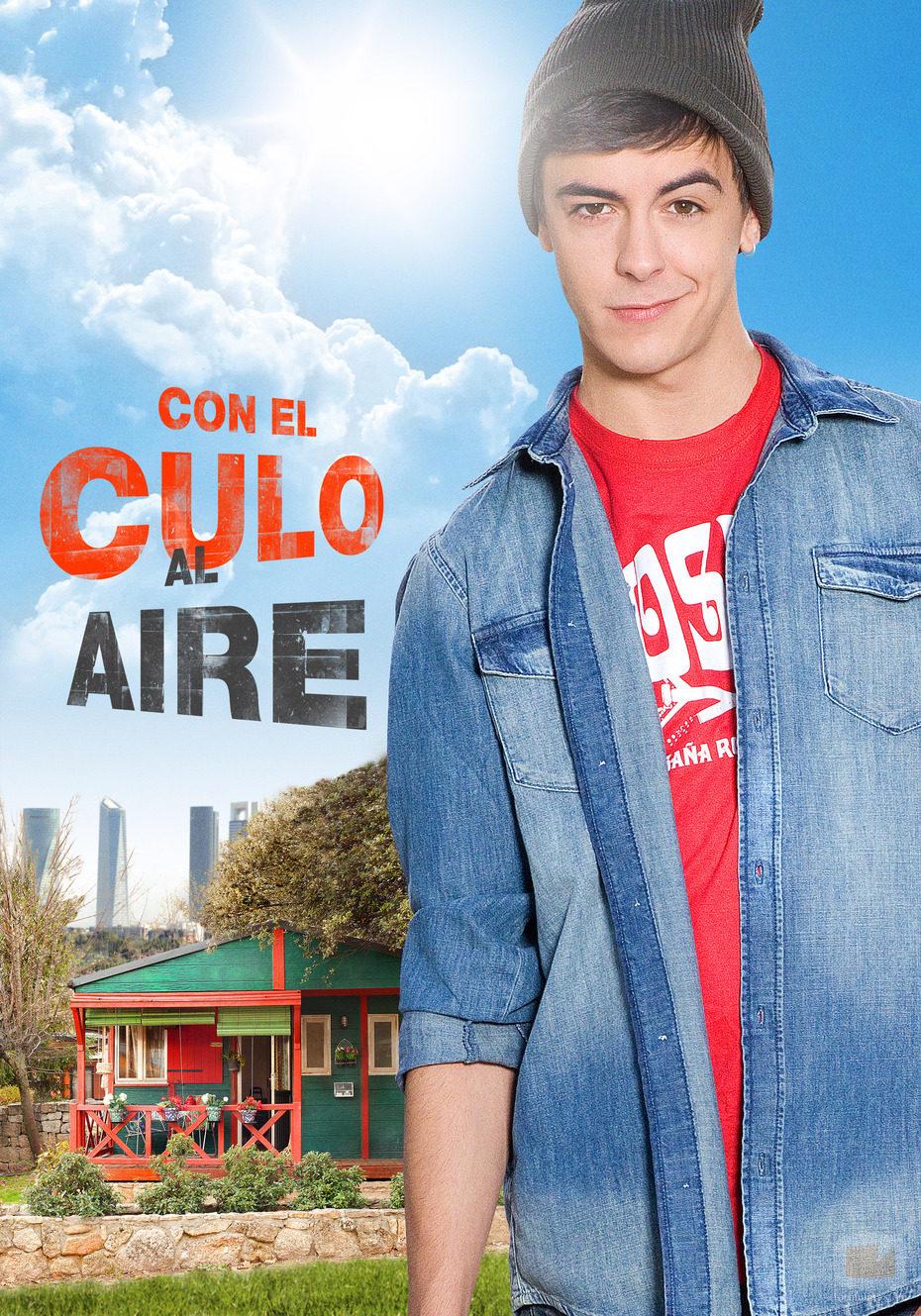 Víctor Palmero da vida a Dani en la serie 'Con el culo al aire'