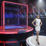 Raquel Sánchez Silva en el plató de 'El Cubo'