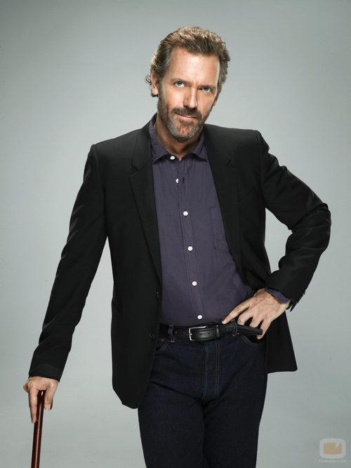 Hugh Laurie protagonista de 'House' que emiten Fox y Cuatro