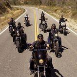 Las Harley Davidson de 'Hijos de la Anarquía'