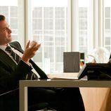 Harvey Specter (Gabriel Macht) en su despacho