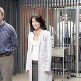 Hugh Laurie y Lisa Edelstein en