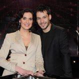 Raquel Martínez y Christian Serrano