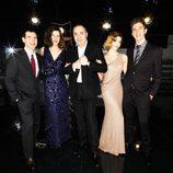 Los presentadores de los Oscar 2012 en Canal+