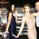 Carlos Marañón, Cristina Teva, Manuela Velasco y Pepe Colubi en los Oscar 2012
