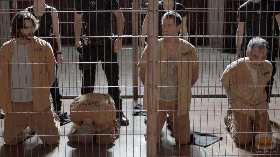 Aítor Luna como Daniel Ochoa en 'La fuga'