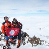 Jesús Calleja en la Antártida