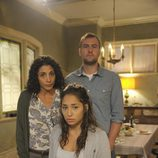 Ranhuma Panthaky, Graham Cuthbertson y Meaghan Rath