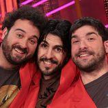 Miguel Martín, Vaquero y Nacho García en 'Otra movida'
