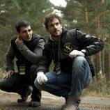 Fran Perea y Daniel Grao, la Guardia Civil de 'Luna'