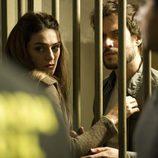 Olivia Molina habla con Daniel Grao en 'Luna, el misterio de Calenda'