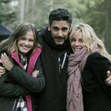 Lucía Guerrero, Leonardo Sbaraglia y Belén Rueda en 'Luna, el misterio de Calenda'