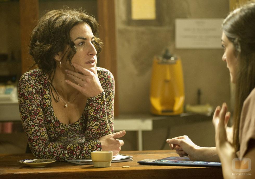 Belén López y Olivia Molina en 'Luna, el misterio de Calenda'