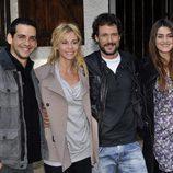 Fran Perea, Belén Rueda, Daniel Grao y Olivia Molina