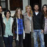 Presentación de 'Luna, el misterio de Calenda' con los actores protagonistas