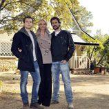 Álvaro Cervantes, Belén Rueda y Daniel Grao