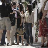 La prensa con Julián Muñoz e Isabel Pantoja en 'Mi Gitana'
