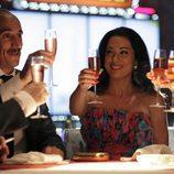 Diego Gómez (Rodrigo Poison) e Isabel Pantoja (Eva Marciel)