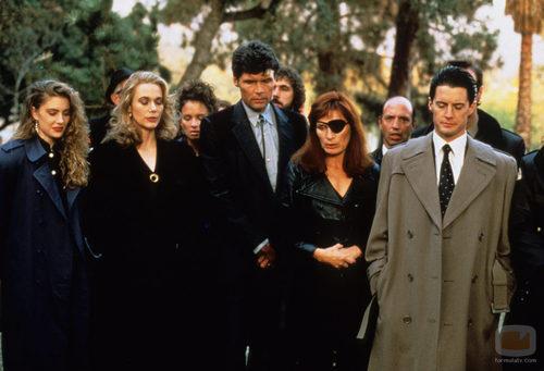 Funeral de Laura Palmer en 'Twin Peaks'