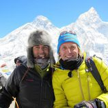 Rafa Lomana y Jesús Calleja en 'Desafío Everest'