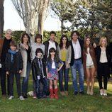 Elenco de 'Los protegidos' en su tercera temporada