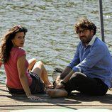 Angie Cepeda y Antonio Garrido en 'Los Protegidos'