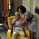 Oscar Ladoire y Gracia Olayo en 'Los Protegidos'