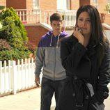Angie Cepeda y Luis Fernández en 'Los Protegidos'
