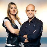 Nira Juanco y Antonio Lobato en Antena 3