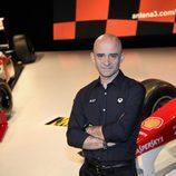 Antonio Lobato, narrador de la Fórmula 1 en Antena 3