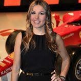 Nira Juanco, reportera de Fórmula 1