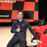 Marc Gené en un Ferrari