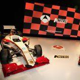 Plató de la presentación de la Fórmula 1 en Antena 3