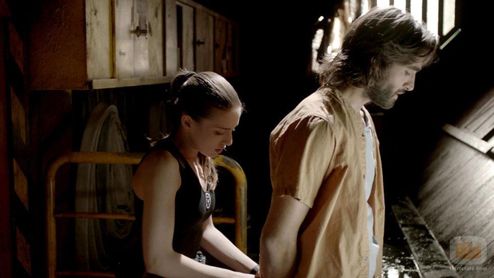 Anna y Daniel en el capítulo 2 de 'La fuga'