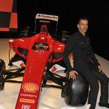 Marc Gené es el probador de Ferrari