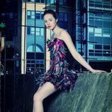 Freya Mavon posa de morena para Overlay Magazine