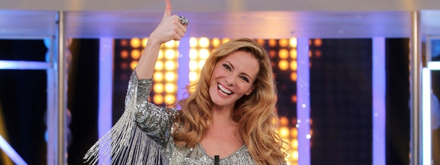 Paula Vázquez en la primera gala de 'El número uno'
