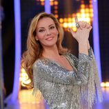Paula Vázquez en el plató de 'El número uno'