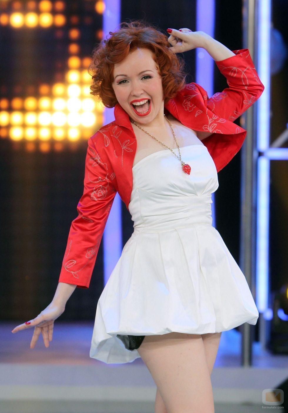 Lady Cherry, concursante de 'El número uno'