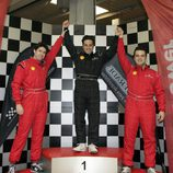 David Bustamante celebra su pole