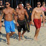 Pauly D, Ronnie y Vinnie en la quinta temporada de 'Jersey Shore'