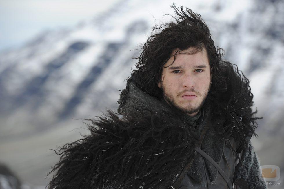 Jon Nieve (Kit Harington) en la segunda temporada de 'Juego de tronos'