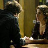 Belén Lopez interpreta una escena en 'Luna'