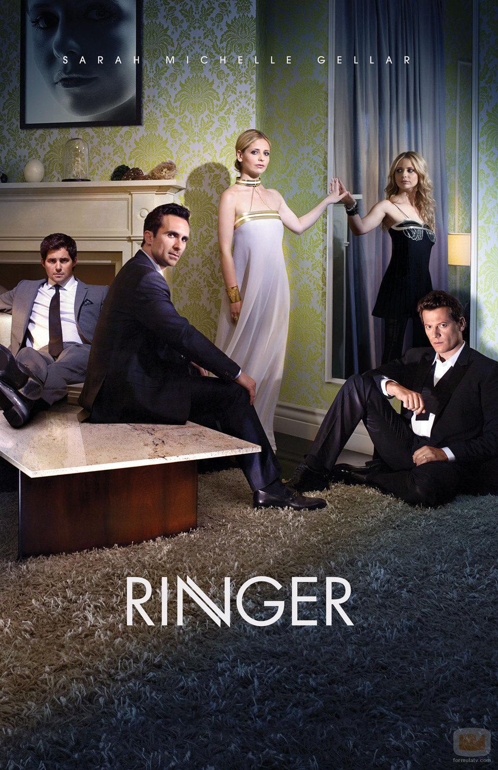 Los protagonistas de 'Ringer'