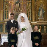La boda entre Carmina y Paquirri en la TV movie 'Carmina'