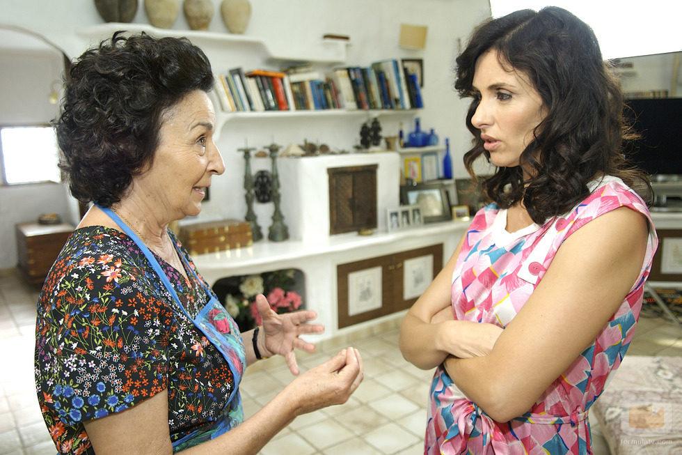 Carmina y la Tata en la tv movie sobre la reina de corazones